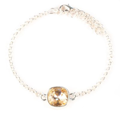 Armband Swarovski perzik light