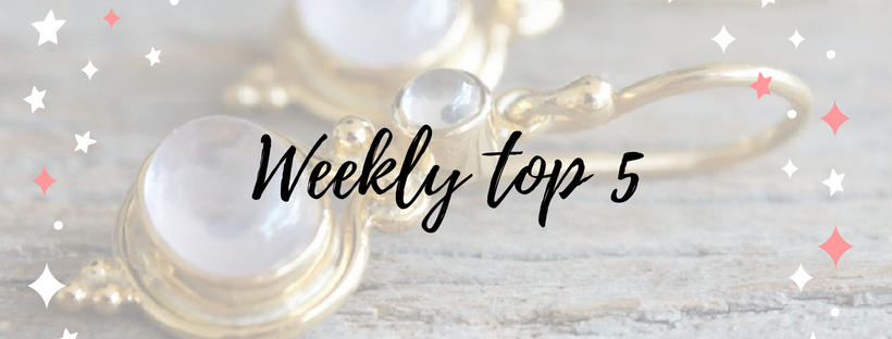weekly top 5 bestsellers