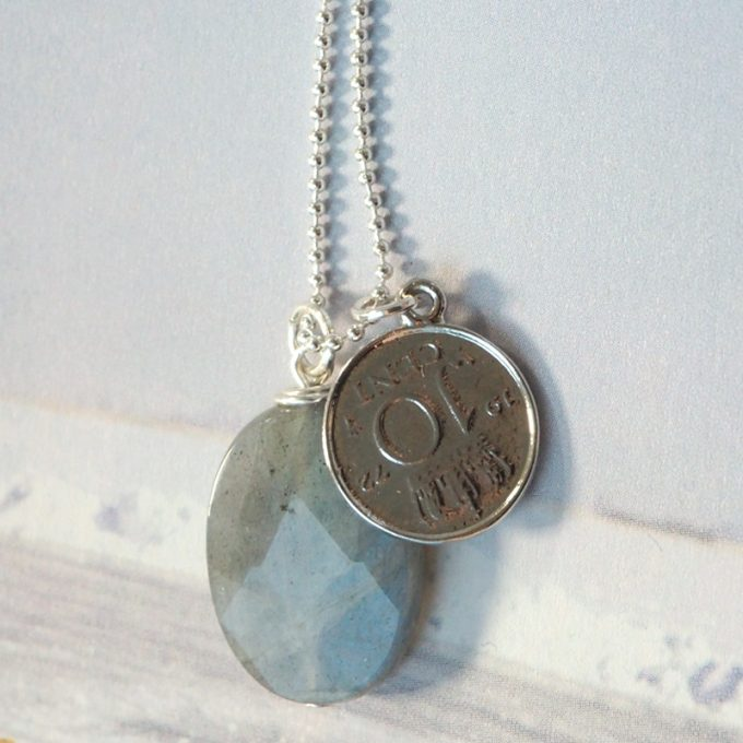 Lucky coin ketting