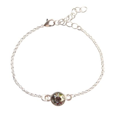 Armband Swarovski golden shadow flakes